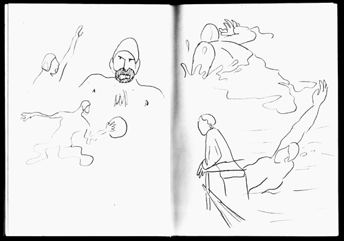 Croquis de Waterpolo